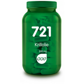Krillolie (500 mg) - 60 caps - 721