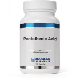 Pantothenic Acid, 500 mg.-100 Caps