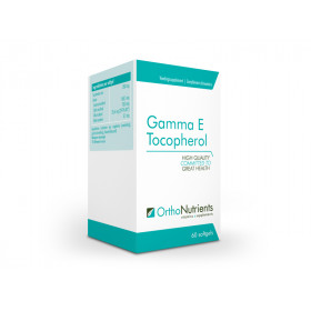 Gamma E Tocopherol with sesam lignans 60 softgels