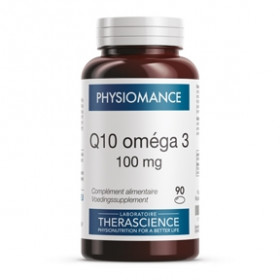 Physiomance Q10 omega 3 100 mg - 90 caps