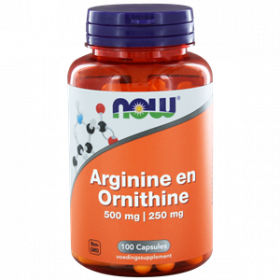 Arginine & Ornithine 500/250 mg 100 caps