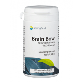 Brain Bow PAS-complex fosfatidylserine 100mg - 150 softgels