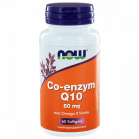 CoQ10 60 mg met Omega-3 Visolie 60 softgels