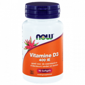 Vitamine D3 400 IE 90 softgels