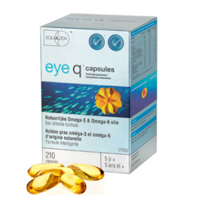 Eye Q Omega 3/6 vetzuren 500 mg - 210 softgels