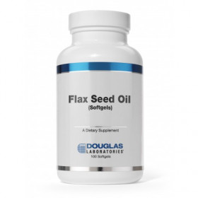 Organic Flax Seed Oil - 100 Softgels