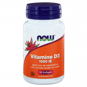 Vitamine D3 1000 IE 90 softgels