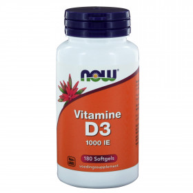 Vitamine D3 1000 IE 180 softgels