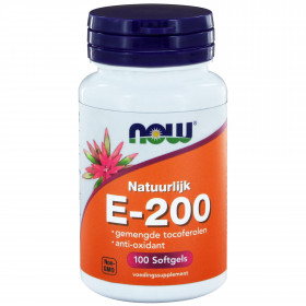 E-200 gemengde tocoferolen - 100 softgels