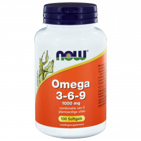 Omega 3-6-9 1000 mg 100 softgels