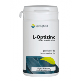 L-Optizinc Zink-L-Methionine 15 mg Zink - 90 VegCaps