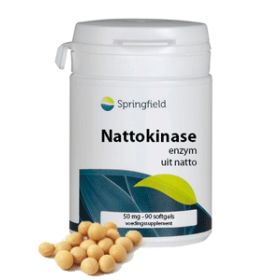Nattokinase Enzym 50 mg - 90 Softgels