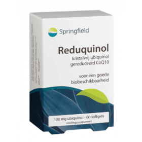 ReduQuinol CoQ10-ubiquinol 100 mg - 60 softgels