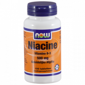 Niacine 500 mg Sustained Release 100 tabs