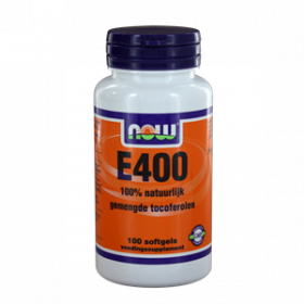E-400 gemengde tocoferolen 100 softgels