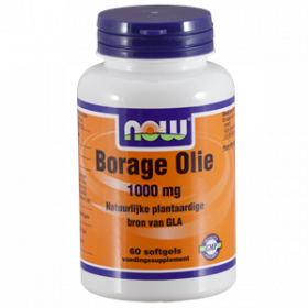 Borage Olie 1000 mg 60 softgels