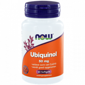 Ubiquinol 50 mg 60 softgels