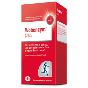Wobenzym plus 60 tabletten